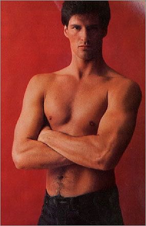 In the June 1982 issue of Cosmopolitan, Brown won the magazine's 'Sexiest Man' contest and posed for several shots, including one in the nude. Pictured, one of the tamer photos from the shoot.