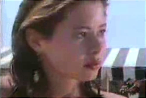 In 1985, Gail Huff was hired as a model for a music video of local band Digney Fignus's song 'The Girl With the Curious Hand.' Watch the video on YouTube.