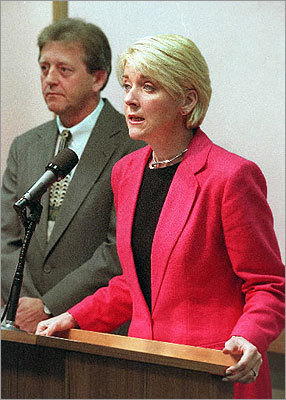 In 1998, Coakley was elected Middlesex district attorney, where she was in office for eight years.
