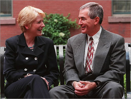 "At 47, Coakley married Cambridge police Captain Tom O'Connor. ""Frankly, until I met my husband, marriage wasn't a huge priority for me,'' Coakley said."