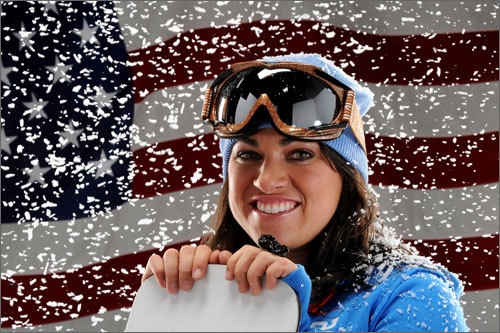 NE Connection: Born and raised in Boston, Gorgone attended the Waterville Valley snowboarding program in New Hampshire. Bio: Gorgone is one of the top competitors in the parallel giant slalom. She finished second in the World Cup in 2009. She participated in the 2006 Olympics, but didn't medal. Website: Gorgone's Team USA page Globe story: A freewheeling spirit