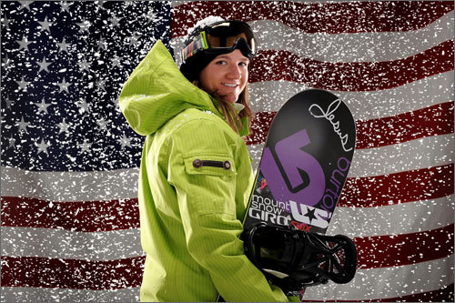NE Connection: Clark was born in Burlington, Vt., lives in Newport, R.I. She trained at the Mount Snow Academy in Vermont. Bio: After graduating in the spring of 2001 from the Mount Snow Academy, she competed in the 2002 games and won gold in the halfpipe competition. In 2006, Clark finished fourth after a costly fall in her final run on the halfpipe. Clark is one of the most dominant and high-flying snowboarders. Website: Clark's Team USA page