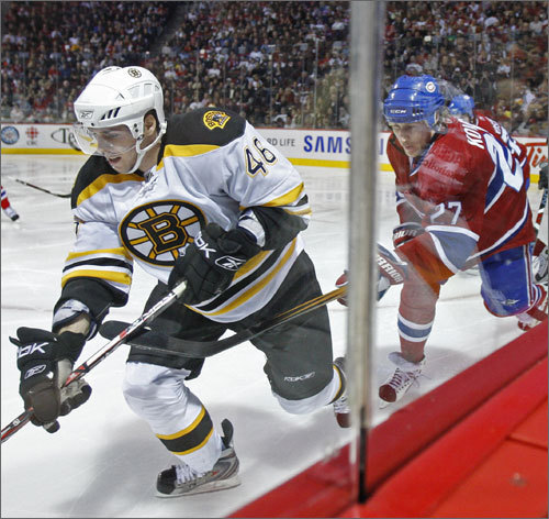 NE Connection: Center for the Boston Bruins. Bio: Krejci was named to the 2008 World Championships team for the Czech Republic, but didn't play in any games. He should see action, alongside former NHL star Jaromir Jagr, in Vancouver.
