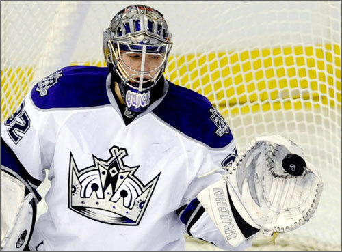 NE Connection: Quick plays on the Los Angeles Kings when the NHL is in season, but he was a stellar goaltender at the University of Massachusetts. Quick was born in Hamden, Conn. Bio: Quick led Avon Old Farms Prep in Connecticut to two New England Prep School Championships before attending UMass. He helped the Minutemen appear in their first NCAA tournament. He was called up from the AHL on Dec. 16, 2008 and has been on the Kings' roster ever since. He'll likely work as the third goalie on Team USA behind Ryan Miller and Tim Thomas. Website: Quick's Team USA page