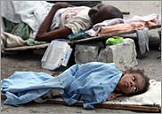 Haiti quake coverage
