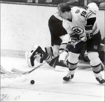 Rick Middleton Bruins sharp-shooting right wing Rick 'Nifty' Middleton had five straight seasons of at least 40 goals and 90 points in leading the Bruins' Lunch Pail A.C. gang of the late 70s and early 80s. The Toronto native quickly became a star in Boston when he was traded from the Rangers for Ken Hodge following the 1975-76 season, and he was named co-captain with Ray Bourque in 1985, a position he held until he retired. Middleton's 105 points in the 1983-84 season tied Ken Hodge for the Bruins team record for most points scored in a season by a right winger. 'I've seen them all, and Nifty's the best one-on-one player in hockey. Take anyone in the league, give Nifty the puck, and 90 percent of the time he'll turn the other guy inside out,' said former Bruins defenseman Brad Park.
