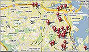 2011 Homicide Map