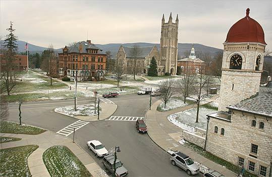 5. Williams College Location: Williamstown 2009 endowment size: $1.41 billion 2008 endowment size: $1.81 billion Endowment change: -22.1 percent Endowment rank (national): 34