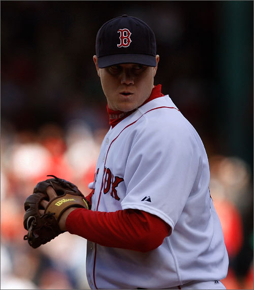 Previous ranking: 8th While he still compiled some impressive numbers -- a 1.85 ERA, 35 saves -- last season, the affably brash righthander clearly wasn't as dominating as he had been in his first three seasons as the Red Sox closer. That was no more evident than the season's final scene, when he blew a save in hideous fashion as the Angels swept the Sox in the ALDS. He's determined for redemption in 2010, and Sox fans can only hope a determined Papelbon is bad news for AL hitters. One encouraging sign: He's using his full repertoire rather than just bringing the heat. <!-- // define variables var date = new Date(); var current_time = date.getTime(); // write SCRIPT tag to browser document.writeln(' '); // -->