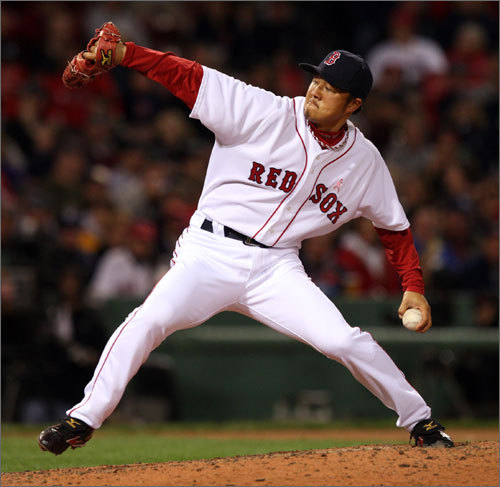 Previous ranking: 15th Okajima, 34, has regressed slightly in each of his three seasons with the Sox, his ERA rising from 2.22 in '07 to 3.39 last year. That small cause for concern expressed, he has been a crucial member of the bullpen since his under-the-radar arrival, and the Red Sox are counting on him to be so again in '10. <!-- // define variables var date = new Date(); var current_time = date.getTime(); // write SCRIPT tag to browser document.writeln(' '); // -->