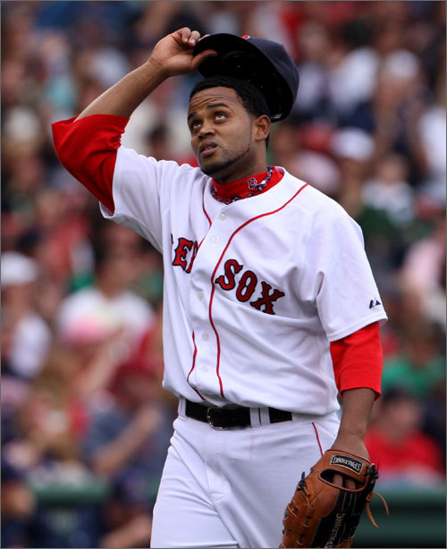 Previous ranking: 18th Sox would gladly take a duplicate of his first season with the franchise, when he went 7-4 with a 2.84 ERA in 70 appearances while serving as a setup man for Jonathan Papelbon. One mystery that needs to be solved: He was much better on the road than at Fenway. <!-- // define variables var date = new Date(); var current_time = date.getTime(); // write SCRIPT tag to browser document.writeln(' '); // -->