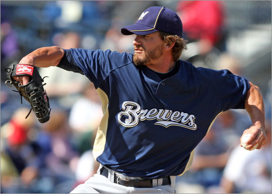 Previous ranking: Not on team Schoeneweis, the well-traveled 36-year-old lefty specialist, locked down the final spot in the bullpen after signing a minor-league deal in late March. He beat out righthander Joe Nelson and 40-year-old lefty Alan Embree for the final spot. (Note: Our top 25 should really be a Top 26, since Daisuke Matsuzaka, who will stay behind in Ft. Myers at the start of the season, is on our list, thus bumping someone who will make the Opening Day roster from our Top 25. Our apologies to you, Scott Atchison. <!-- // define variables var date = new Date(); var current_time = date.getTime(); // write SCRIPT tag to browser document.writeln(' '); // -->