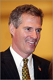 Senator-elect Scott Brown.
