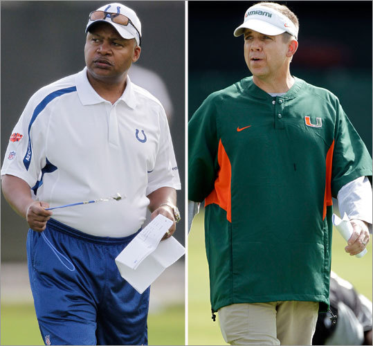 COLTS: Jim Caldwell (left). SAINTS: Sean Payton (right). Tempting to take Caldwell and a staff full of championship-experienced coaches, but the Saints offense-defense combination of Payton and defensive coordinator Gregg Williams could make the difference with two weeks to prepare. Payton has found a way in some big games to jump out to a big lead (vs. Giants, Patriots, Cardinals), which puts pressure on the opposition and allows Williams to open up the playbook. The Colts defense has played well under first-year Coordinator Larry Coyer, who has mixed in more man coverage and blitzing to go with the team's standard Cover-2 looks. And Tom Moore has been around for 12 years on the offensive side. But if there's a coaching staff in this game that's going to make the difference, it'll probably be that of the Saints. EDGE: Saints