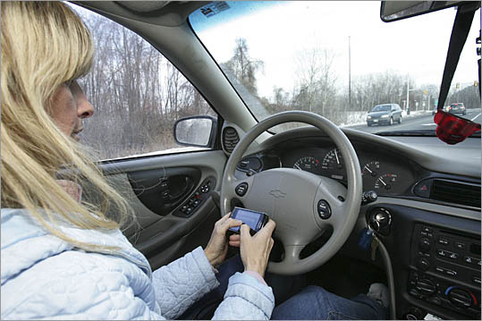 We all know that it's dangerous to text on a cellphone while driving. Study after study proves it, and everyone from carmakers to cellphone companies is clamoring not to do it. New Hampshire and Rhode Island are among the latest states to outlaw the practice, and AAA and Verizon, among others, are calling for a national ban. Fortunately, budding technologies are offering another solution. Products abound that enable drivers to speak aloud a text or e-mail message, or listen to one being read, without having to type on their phones. With speech-recognition or 'voice-to-text' technology, drivers can keep their eyes on the road.