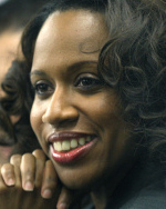 City Councilor At Large Ayanna Pressley talked about a recent upswing in teenage pregnancies in Boston.