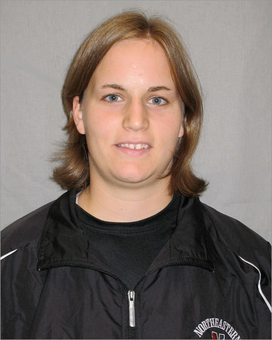 NE connection: Plays at Northeastern. The junior defenseman is from Nussbaumen, Switzerland, and plays for the Swiss national team. Bio: Marty was an all-star in the top Swiss women's league, and her team was league champ in 2004 and 2005. Marty has been a member of the Swiss national team since 2003, and played in the 2006 Olympics and the 2004 and 2007 World Championships. Marty played at New Hampmshire in 2007-08, and had 10 points. In her first year at Northeastern last season, she had four goals and 13 assists and was a Hockey East honorable mention. This season, she has one goal and six assists.