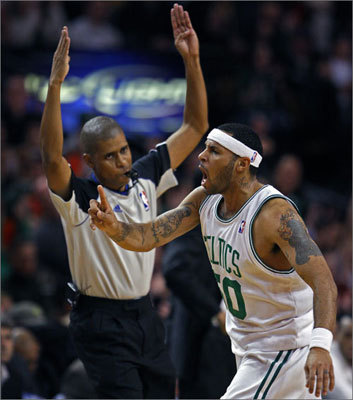 No. 1: Eddie House 3PM: 328 3PA: 799 3P%: .411 Games: 208 When you think Eddie House, you think three-pointers. A career .382 three-point shooter as part of eight different teams, House is currently the Celtics' all-time leader in 3-point percentage.