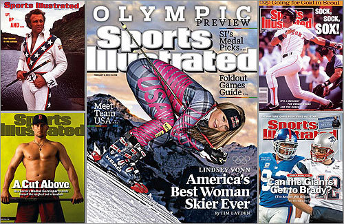 When Sports Illustrated put Team USA skier Lindsey Vonn (middle) on its cover before the start of the last Winter Olympics with the headline 'America's Best Woman Skier Ever,' believers in the magazine's so-called 'cover jinx' probably cringed. Many an athlete has graced the cover only to face adversity in the days or weeks following. Check out these athletes who have seen their fortunes turn following a stint on the SI cover. We'll focus mostly on cover jinxes with local connections, but throw in a couple of old-school jinxes for good measure.