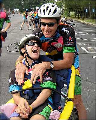 Inspired to participate by the death of one of Graham's friends from Camp Jabberwocky, a summer retreat on Martha's Vineyard for the disabled, Gardner and his father raised $16,000 for The Jimmy Fund during the Pan-Mass Challenge. They spent time together through bicycling, kayaking, windsurfing and skiing. 'Graham was the athlete, and I was just lending him some muscle power,' his father said.