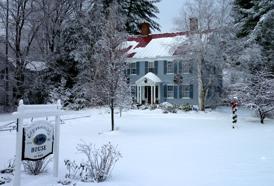 Centennial House B&B in Northfield has six guest rooms and suites. Nearly the entire first floor is common space.