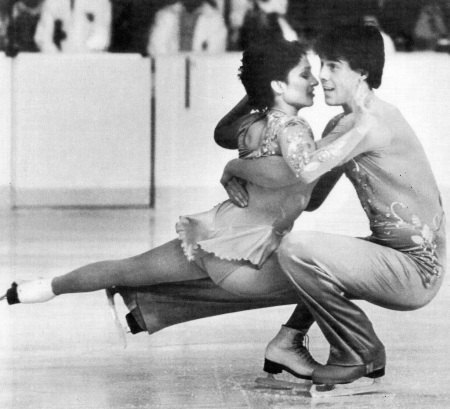Caitlin and Peter Carruthers, a brother and sister team originally from Burlington, won the 1982 World Championship bronze medal for pairs figure skating. Two years later, the siblings took home the silver medal in pairs figure skating from the 1984 Winter Olympics, which was held in Sarajevo, Yugoslavia. Here, the duo is pictured at the National Figure Skating Championships