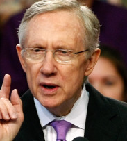 MAJORITY LEADER REID UPS THE ANTE An earlier, bipartisan proposal would have extended aid to the jobless only through May 31.