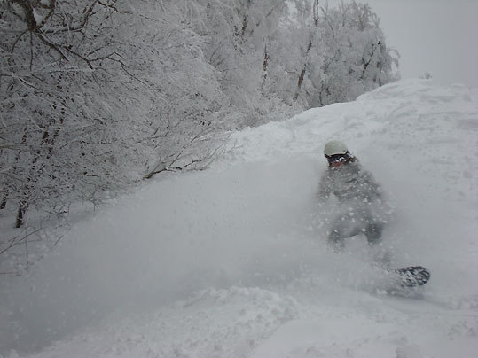 Jay Peak saw 45 inches from the storm.
