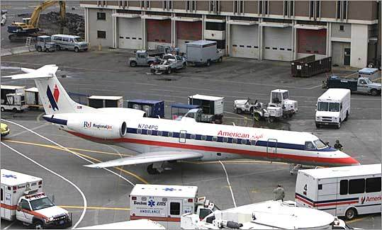 5. American Eagle Based in: Dallas-Fort Worth Flights into Logan in 2009: 9,553 Percent on time: 73.9 Average delay: 57 minutes