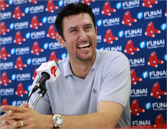 Nomar Garciaparra was one of the best and most popular players in Red Sox team history before he was traded on July 31, 2004. On Wednesday he announced his retirement after signing a one-day contrac with the team. He also said he's joining ESPN as a baseball analyst. 'I just can't put it into words what this organization has always meant to me. It's my family, the fans -- I always tell people Red Sox Nation is bigger than any nation out there. I came back home, and to be part of Red Sox Nation is truly a thrill,' Garciaparra said.