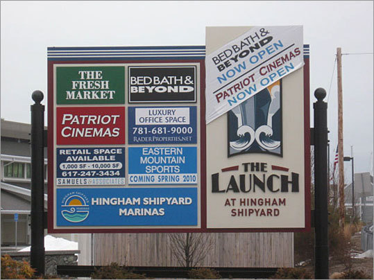 Some businesses in the new Hingham Shipyard development received tax breaks under the state's Economic Development Incentive Program.