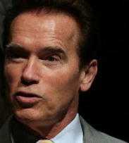 LEGACY ON THE LINE Governor Arnold Schwarzenegger has vowed to fight for the law, though he is backing a slow adoption.