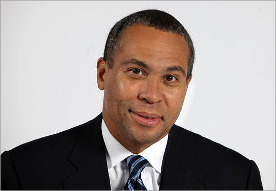 deval patrick governor. on Governor Deval Patrick.