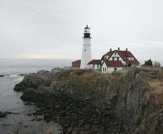One of the state's most-visited lighthouses, the Portland Head Light offers visitors stunning views off the Maine coast.