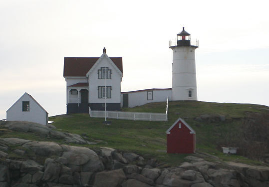 One of the state's most photographed lighthouses, an image of the 'Nubble,' nicknamed because it stands on Nubble Island about 100 yards off Cape Neddick Point, has even been sent to space. The Voyager spacecraft, which carries photographs of Earth's most prominent features - intended to identify the planet should the spacecraft fall into extraterrestrial hands - includes a photo of the 1879 lighthouse, along with images of the Great Wall of China and the Taj Mahal.