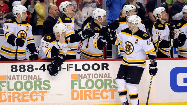 Bruins Cap Regular Season With A Win