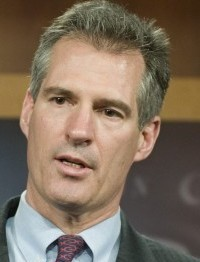 Senator Scott Brown urged protections for small banks.