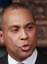 """""""I feel very strongly that discrimination should not appear in our Constitution or in our laws,'' Governor Deval Patrick said."""