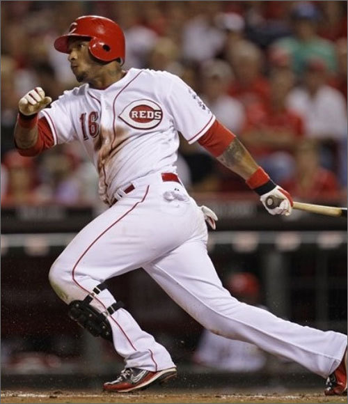 In 2009, McDonald was an Opening Day starter for the Reds. He played in the majors until May 21, when he was sent down to Louisville before being called back up on Aug. 25. On Aug. 30, McDonald hit his first career home run, off of Clayton Kershaw, in a 3-2 Reds loss. He remained on the Reds roster for the rest of the season, hitting his second career home run on Sept. 17 off of Anibal Sanchez. He played 47 games for Cincinnati last season.
