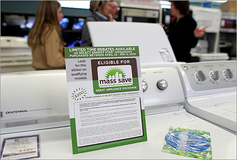 On Thursday, April 22, a state program launched to provide rebates on purchases of new energy-efficient dishwashers, refrigerators, clothes washers, and freezers. The program ran out of funds in less than two hours. Interest in the program was so high that the MassSave.com website crashed due to the volume of traffic. The state has since said it will have another - more modest - rebate program later this summer. Did you get your rebate reservation? Are you on the wait list? Now what do you do? Read on to find out.