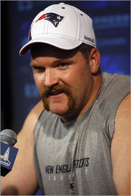 2005: Logan Mankins The Patriots won their second consecutive Super Bowl in 2004, which left them with their second consecutive 32d pick in the draft. They beefed up on the offensive line, adding Fresno State guard Logan Mankins, who started every game of every season for the Patriots until the start of 2010, when he held out in a contract dispute and didn't report to the team until November. Despite playing only nine games in 2010, Mankins was voted to the Pro Bowl.
