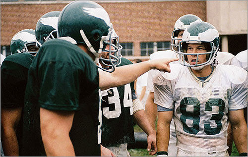 Speaking of movies, the story of 30-year-old Vince Papale was also made into a film. Papale was a bartender in South Philadelphia who attended an open tryout with the Philadelphia Eagles, made the 1976 team, and played three seasons as a pro. Papale was portrayed by Mark Wahlberg in the 2006 film 'Invincible.'