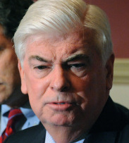 COMMITMENT Senator Chris Dodd said the panel is committed to ensuring that taxpayers will not have to bail out Wall Street firms again.