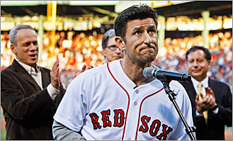 Photos: Red Sox pay tribute to Nomar