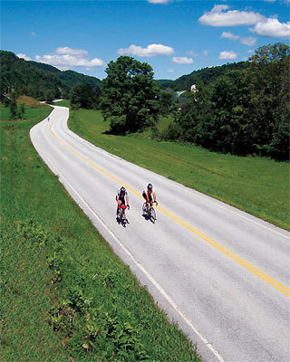 The lake show For a less rugged, yet challenging, bike trip, the Lake Champlain Bikeways Summer Tour offers the chance to witness the picturesque landscape, villages, and historic sites that surround Vermont's largest waterway. The five-day excursion (July 8-12) begins in Burlington, and travels west through the Adirondacks, north to Quebec, and back south via the Grand Isle Shore. The cost, $1,250, includes four nights accommodations, six meals, full van support, and ferry crossing on Lake Champlain. New England Adventure Bicycle Tours, P.O. Box 809, Saratoga Springs, N.Y., www.newenglandadventure.com