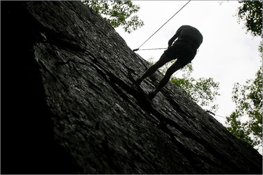 Rock out The First Ascent program, one-day instructions offered by Eastern Mountain Sports at locations in Quincy, Newton, and West Hartford, Conn., provides the novice climber with all knowledge beginner and indoor climbers need to tackle New England cliffs. These private, five-hour clinics run $275 for individuals over a calendar of dates through the summer and fall (see site for details). Prices include all gear and instructions. Eastern Mountain Sports, www.emsclimb.com