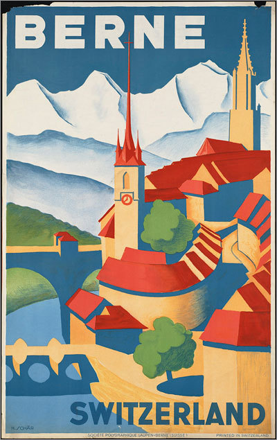 Berne, Switzerland, 1910-59.