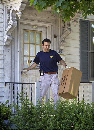 Another FBI member left the Watertown home.
