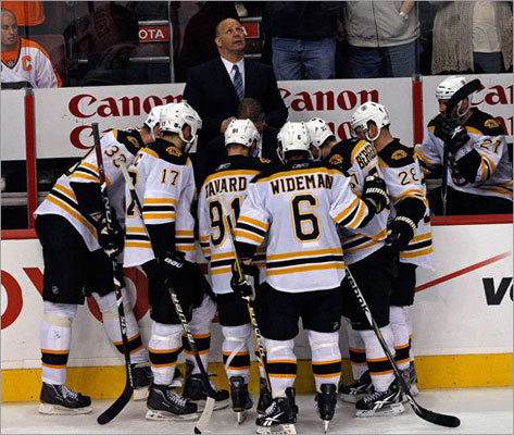 After beating the Canucks in Game 7 of the Stanley Cup finals in 2011, the Bruins were 12-10 in Game 7s. Here's how they've done in Game 7s before 1990. May 14, 1988: Bruins 6, Devils 2 April 24, 1983: Bruins 3, Sabres 2 (OT) April 25, 1982: Nordiques 2, Bruins 1 May 10, 1979: Canadiens 5, Bruins 4 April 25, 1976: Bruins 3, Kings 0 April 18, 1971: Canadiens 4, Bruins 2 April 7, 1959: Maple Leafs 3, Bruins 2 April 8, 1952: Canadiens 3, Bruins 1 April 3, 1945: Red Wings 5, Bruins 3 April 3, 1941: Bruins 2, Maple Leafs 1 April 2, 1939: Bruins 2, Rangers 1 (OT)