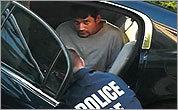 Authorities take a man into custody